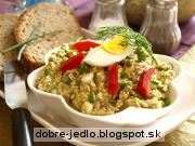 Šošovicová nátierka so zeleninou - recept