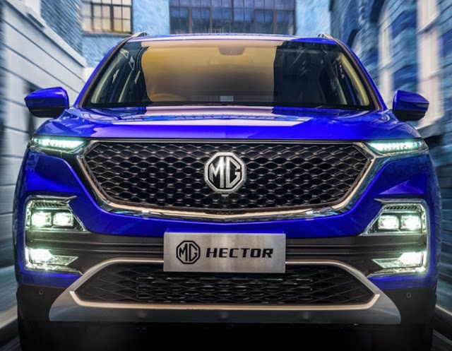 MG motors start booking to Hector SUV.