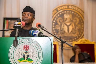 Acting President Osinbajo: visits Sokoto Thursday