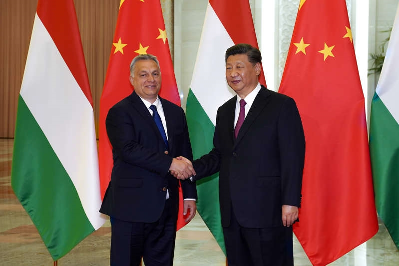 Diplomats say Hungary has blocked EU statement criticizing China over Hong Kong