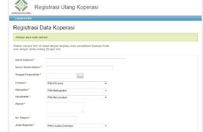 lengkapi-data-registras-ulang-koperasi