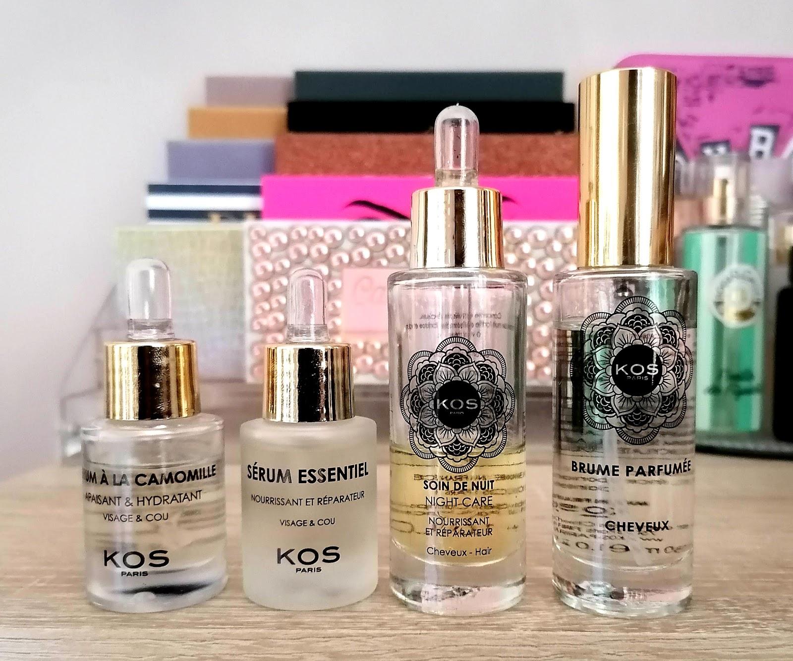 KOS Paris, découverte de la marque aux cosmétiques naturels et haut de gamme