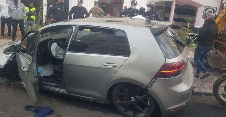 أكادير..شابان في حالة سكر طافح يهاجمان شرطي بسيف ويتسببان في حادثة سير خطيرة