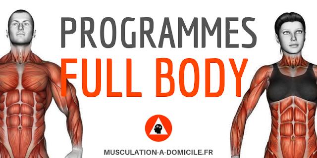 musculation à domicile programme musculation débutant full body poids du corps haltère