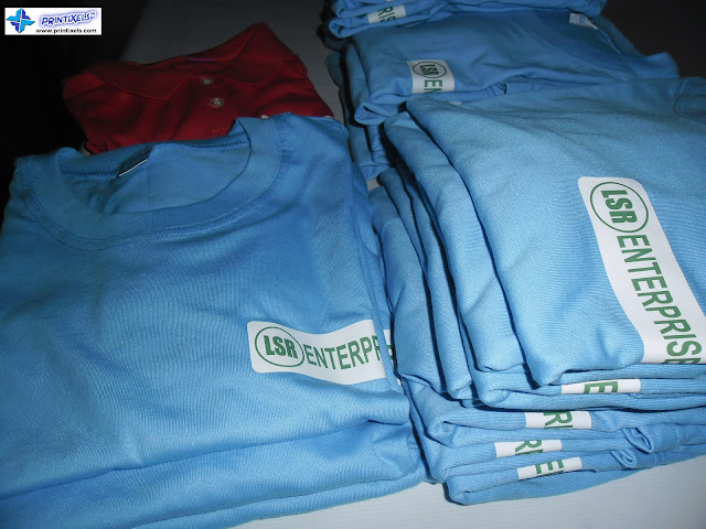 Customized T-Shirts with Vinyl Heat Transfer - LSR Enterprises