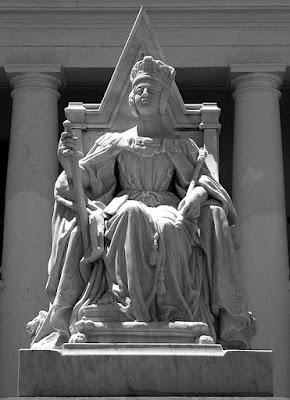 Queen Victoria statue, Rawson Square, Nassau, Bahamas.