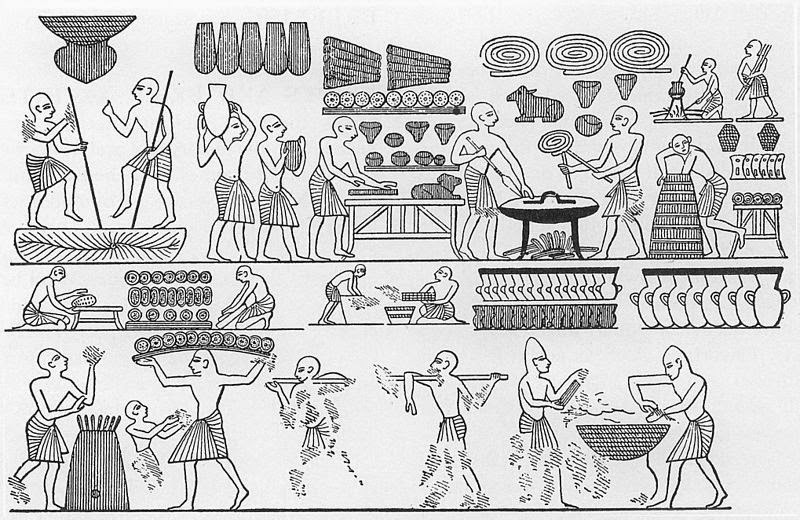 What Type Of Food Did Craftsmen Eat In Ancient Egypt
