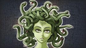 ゴルゴーン3姉妹の蛇頭「メドゥーサ」はかわいそうな美人?