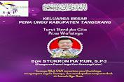 Pena Ungu Kabupaten Tangerang Berduka Cita Atas Meninggalnya Bapak Syukron Ma'mun