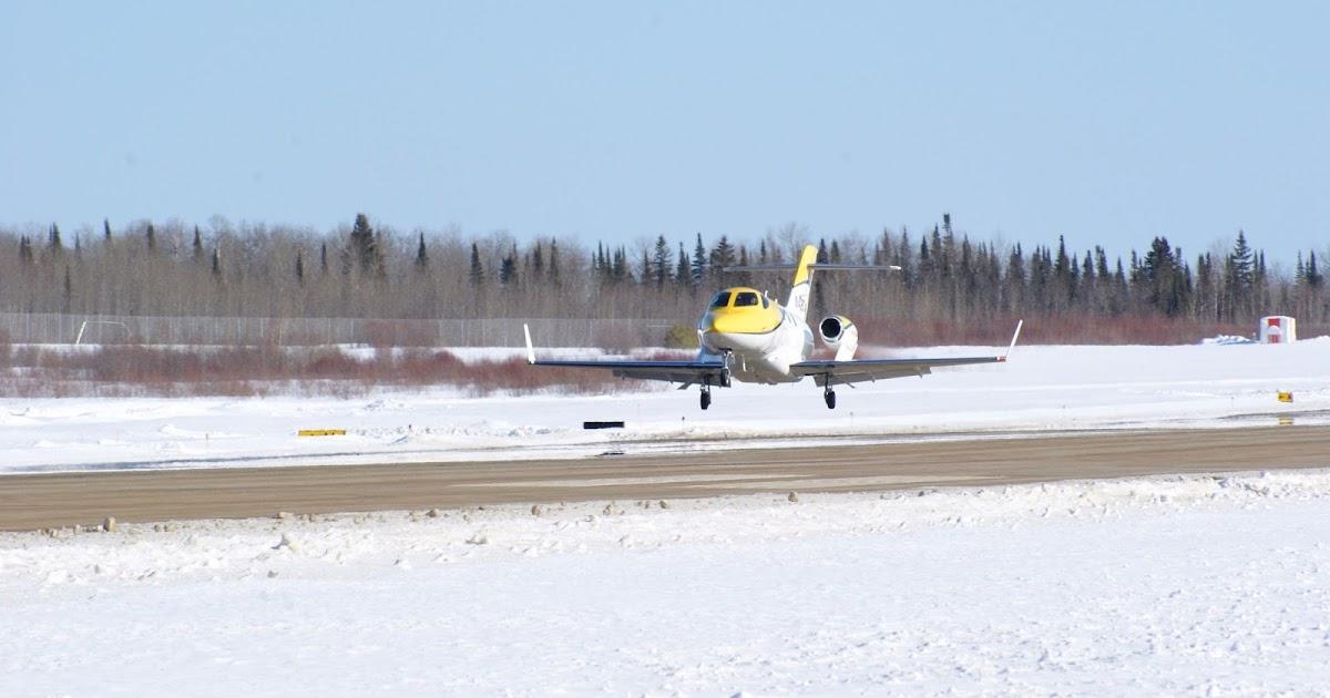 Honda Jet HA-420 During Cold Weather Test