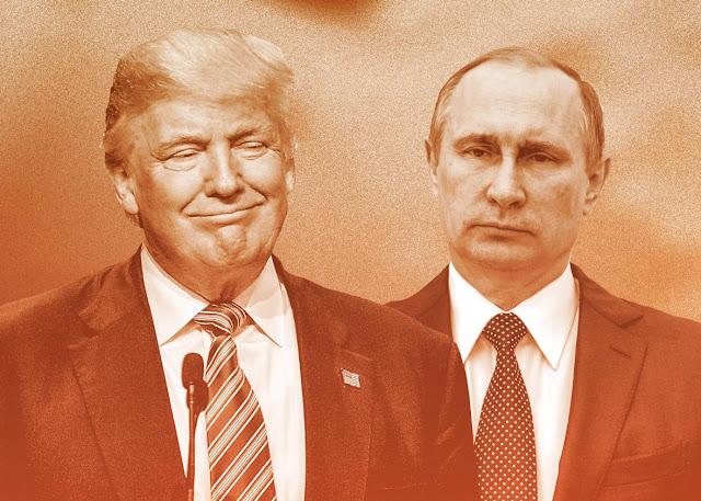 """O presidente russo, Vladimir Putin e o presidente eleito Donald Trump na segunda-feira concordaram em trabalhar em direção a """"cooperação construtiva"""", incluindo o combate ao terrorismo, disse o Kremlin"""