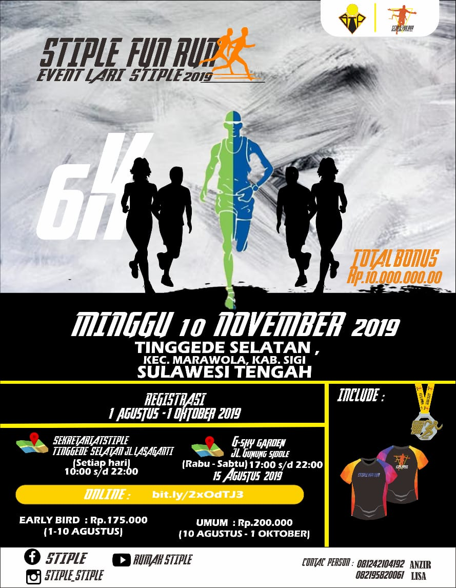 Stiple Fun Run • 2019