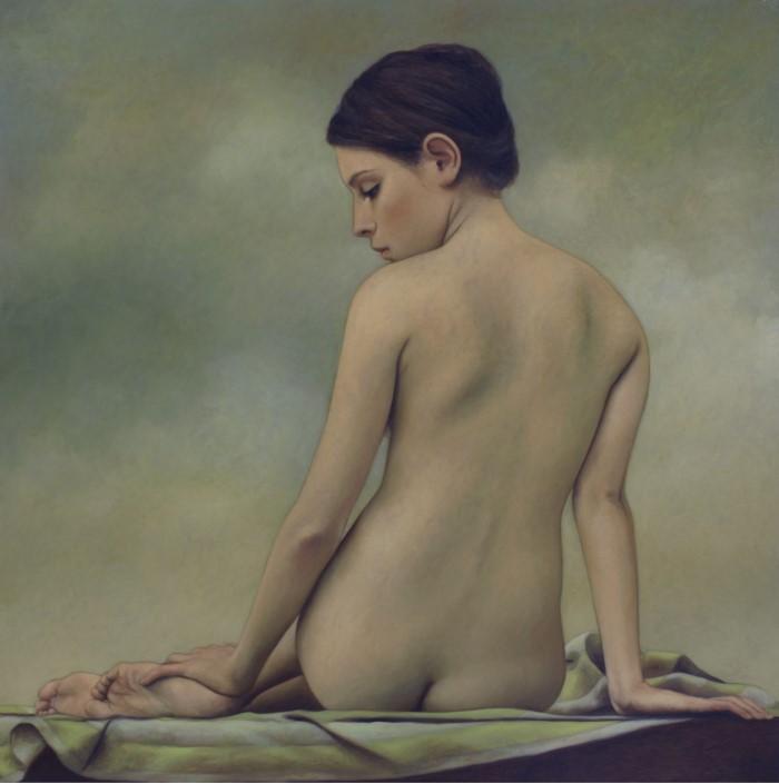Современный художник с классической техникой