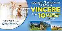 Logo ''Vinci un soggiorno weekend con SC Johnson'': in palio 10 soggiorni per 2 persone