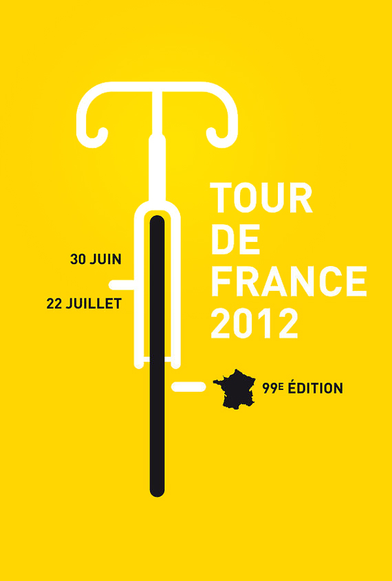 2012 official poster Tour de France