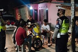 Patroli Malam, Sat Lantas Polres Lobar Perketat Kegiatan Tongkrongan