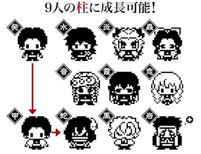 "Figuras: Adorables ""Tamagotchis de Kimetsu No Yaiba"""