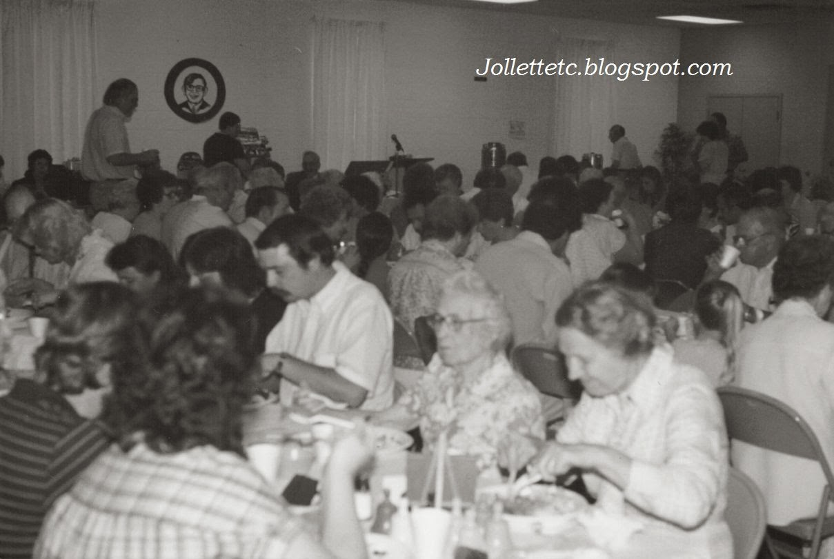 Cradock United Methodist Church Dinner June 1984  http://jollettetc.blogspot.com