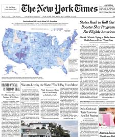 The New York Times Magazine 26 September 2021