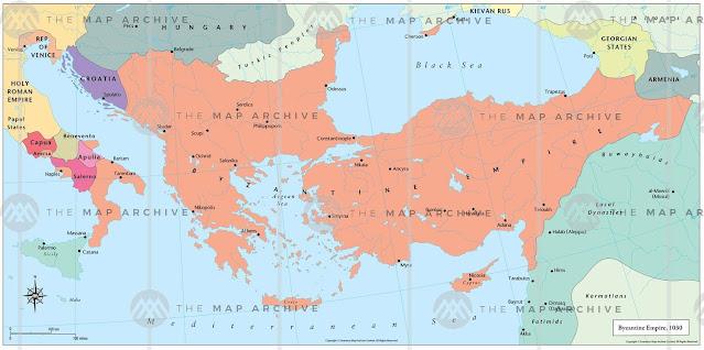 Byzantine Empire after the reign of Basil II byzantium. filminspector.com
