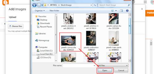 Belajar Dan Mengenal Cara Upload Gambar Ke Postingan