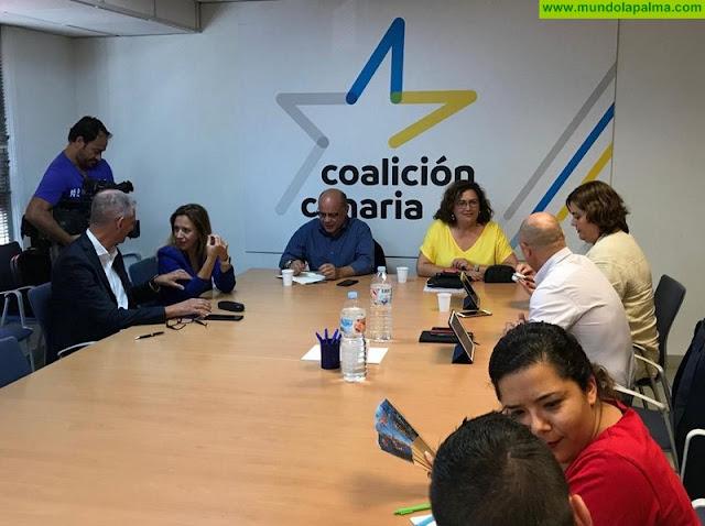 """González Taño: """"Vamos a solicitar este martes a la mesa del Senado que el Estatuto y el REF se tramiten con carácter de urgencia"""""""