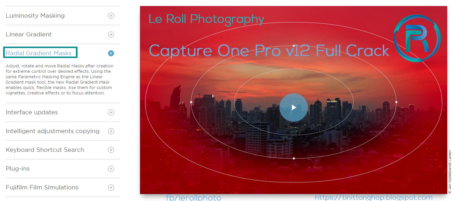Capture One Pro v12 Full Crack - Phần Mềm Chỉnh Sửa Ảnh Đình