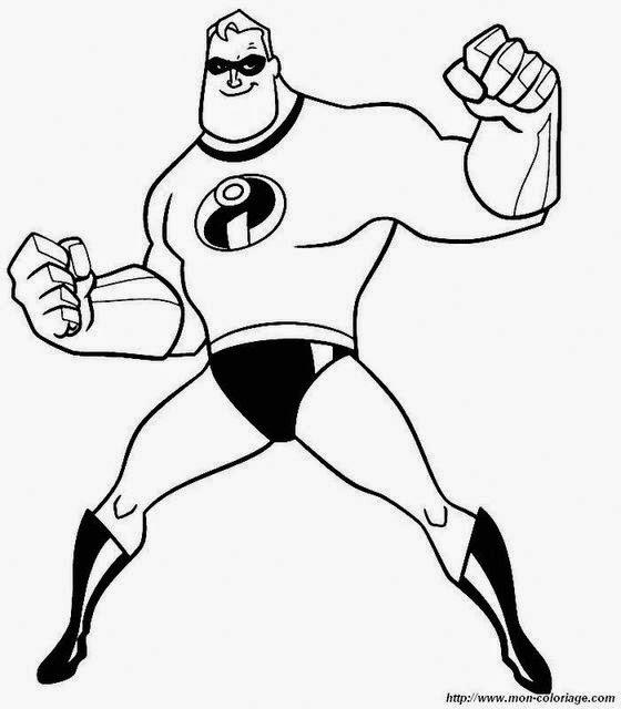 disegni da colorare supereroi
