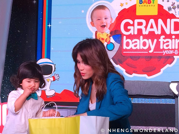 Toni Gonzaga and Baby Seve #ChoosePampers for Less Lawlaw Go Galaw Mornings