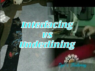 Perbedaan antara interfacing dan underling