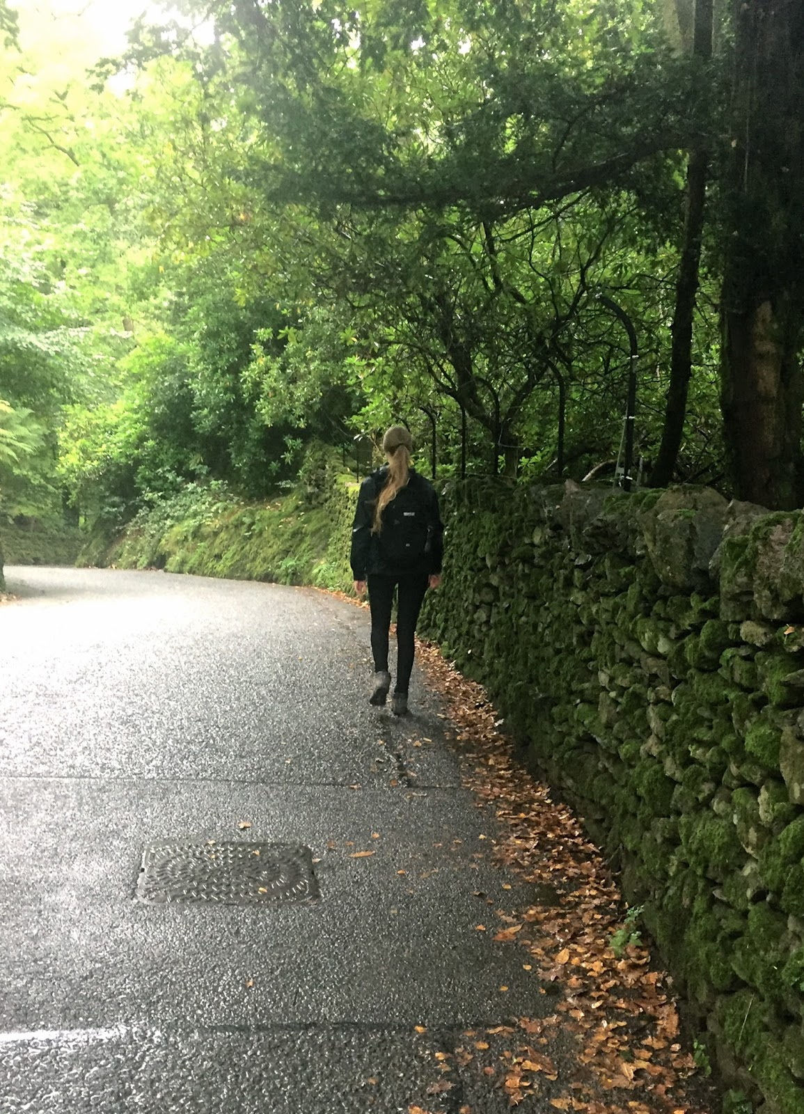Walking on roads through the Lake District