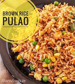 Brown rice pulao