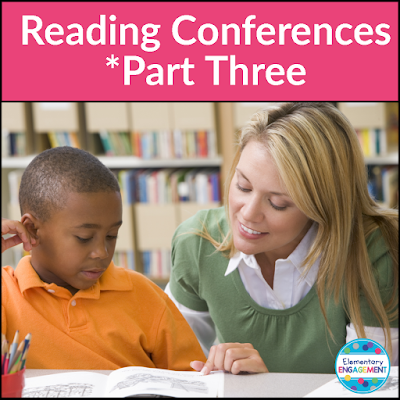 This post shares ways to set and track reading goals during independent reading conferences.
