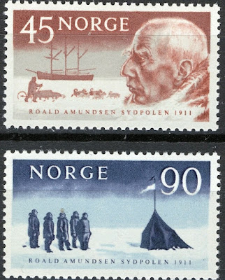 Norway 1961, Roald Amundsen 50th anniv south pole arrival