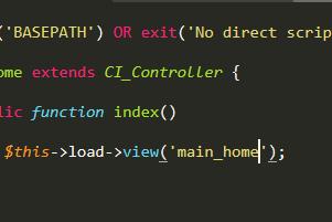 Cara Membuat Controller dan View Menggunakan Codeigniter