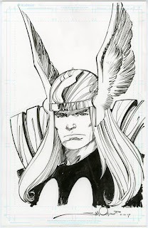Art of, Walter Simonson, Thor, X-factor, DC comics, Marvel, Simonson