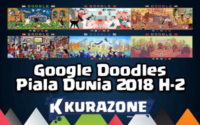 Google Doodles - Piala Dunia 2018 H-2