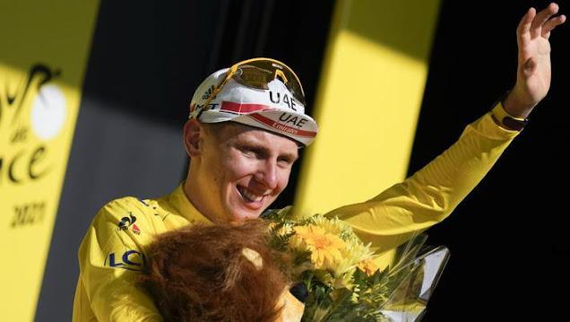 Tadej Pogacar è il vincitore del Tour de France 2021