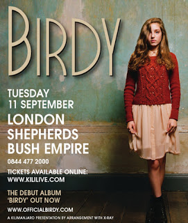 Research Into Magazine Advert I: Birdy In The Media