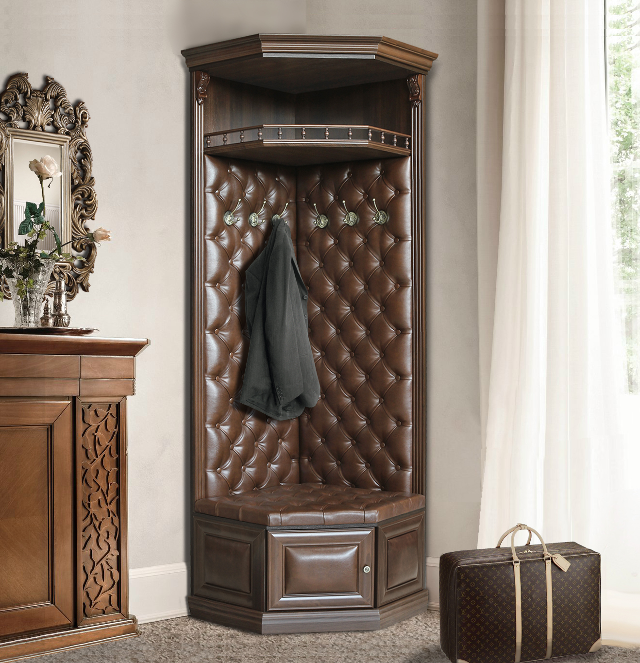 Creative%2BSmall%2BCorner%2BWall%2BCabinets%2B%252823%2529 35 Inventive Small Nook Wall Cupboards Interior