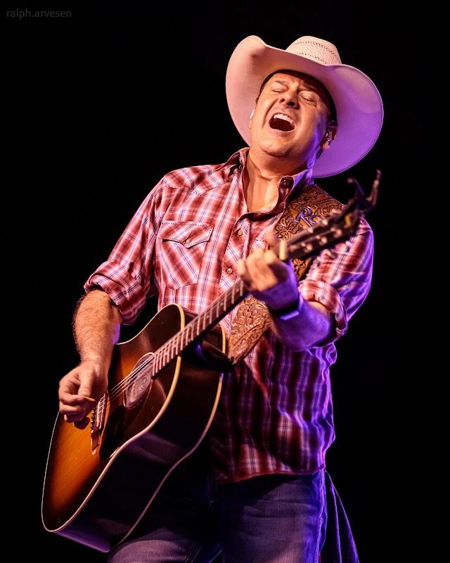 Roger Creager performing at Luckenbach Texas in Fredericksburg, Texas