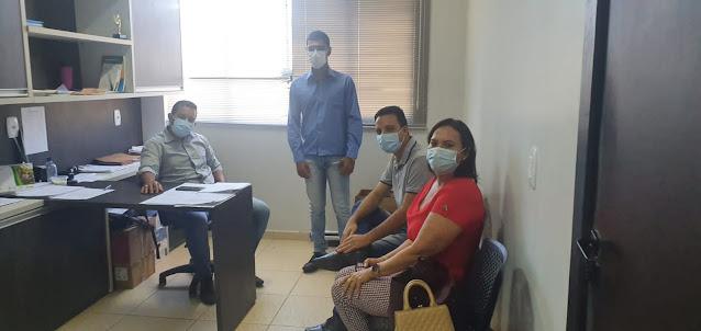 Vereadora Carmélia da Mata visita escritório e diretoria  do CONSOB Oeste