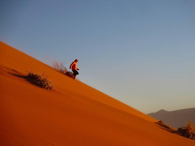 O GRANDE NAMIBE VERMELHO, o Grande Mar de Areia do mundo | Namíbia