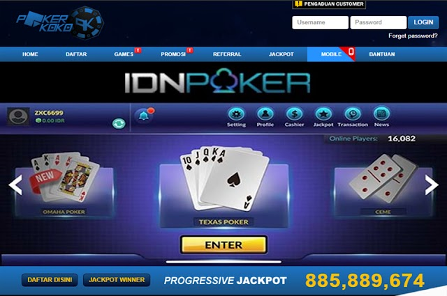Pokerkoko.com | Bandar Judi Poker Online Deposit Pulsa Telkomsel dan XL