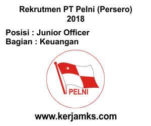 Lowongan Kerja Keuangan - Junior Officer PT PELNI (Persero)