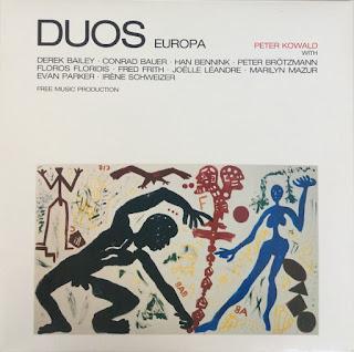 Peter Kowald, Duos Europa