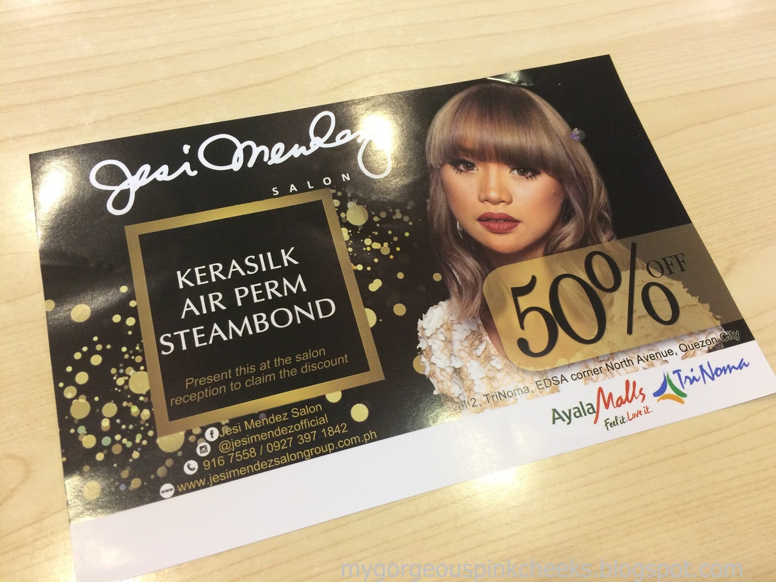 Salon But Promo My L Oreal Extenso Steam Bond Experience At Jesi Mendez Salon