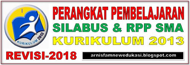 SILABUS DAN RPP KURIKULUM 2013 SMA REVISI TERBARU 2018