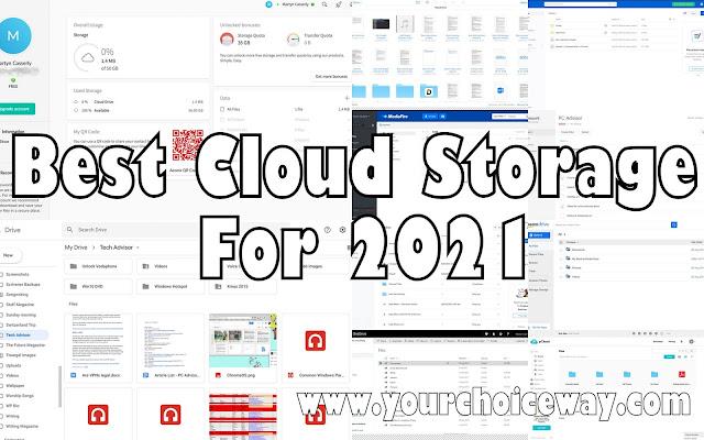 Best Cloud Storage For 2021