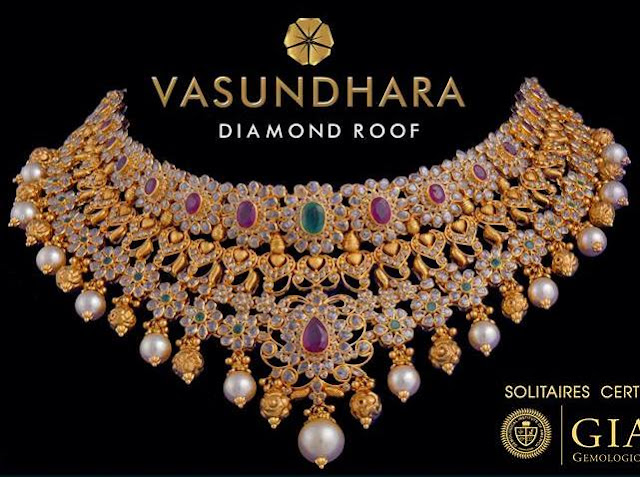 Latest Jewellery Designs by Vasundhara Exotic Jewellers
